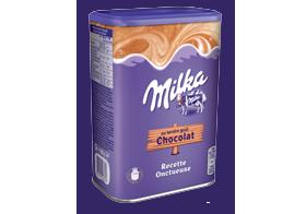 Les poudres chocolatées Milka