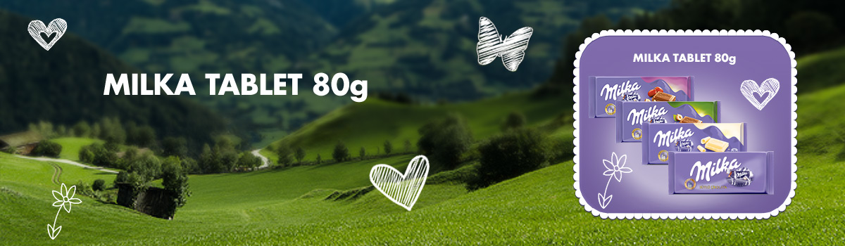 Milka Tablet 80g