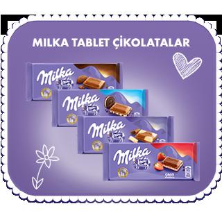 Milka Tablet Çikolatalar