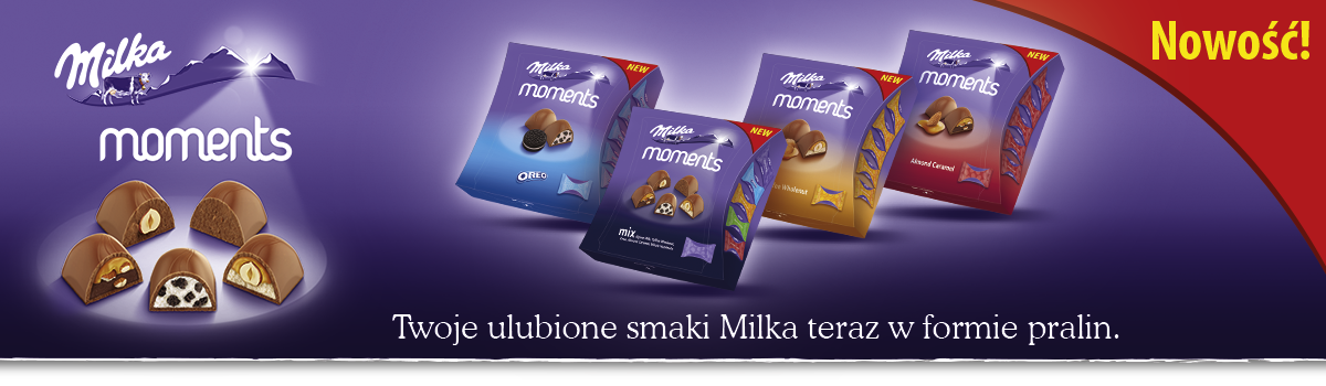 MILKA MOMENTS PRALINES