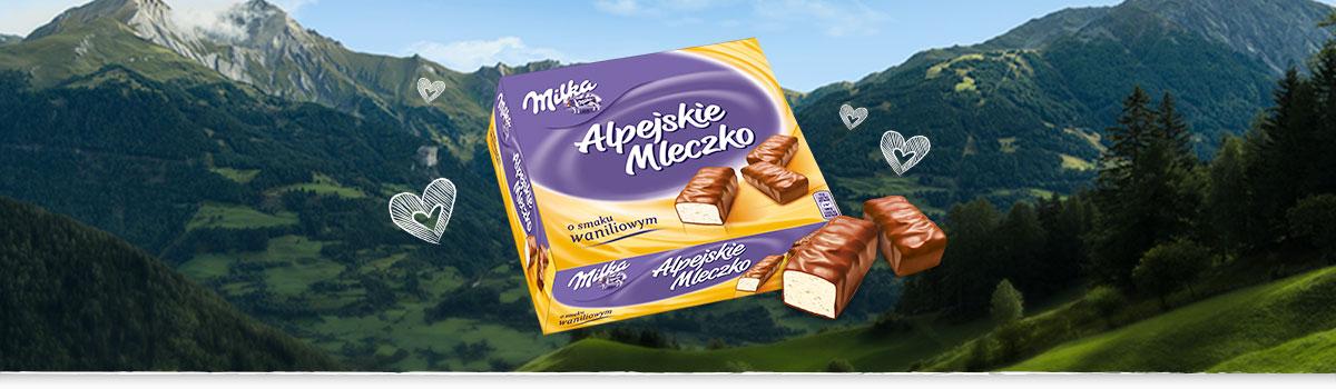 MILKA ALPEJSKIE MLECZKO