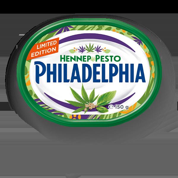 philadelphia-hennep-en-pesto