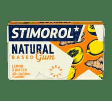 Stimorol Natural Based Gum Lemon & Ginger