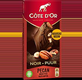 BLOC Noir Pécan Noisettes