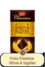 Freia Premium Sitron & Ingefær (150g)
