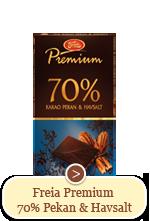 Freia Premium 70% Pekan og Havsalt (100g)