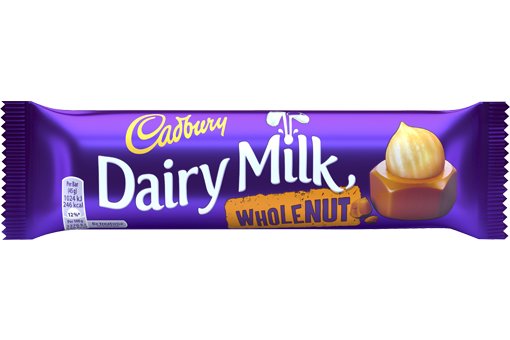 Cadbury Dairy Milk Whole Nut | Cadbury.co.uk