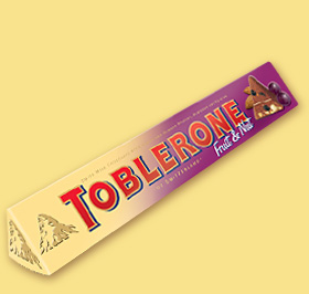 TOBLERONE Fruit & Nut 400g