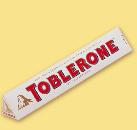 TOBLERONE White Chocolate