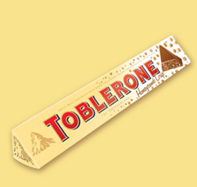 TOBLERONE Honeycomb Crisp