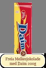 Freia Melkesjokolade med Daim (200g)
