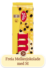 Freia Melkesjokolade med M (190g)