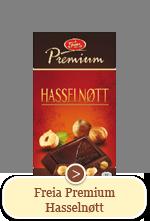 Freia Premium Hasselnøtt (180 g)