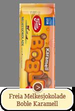 Freia Melkesjokolade Boble Karamell 250g
