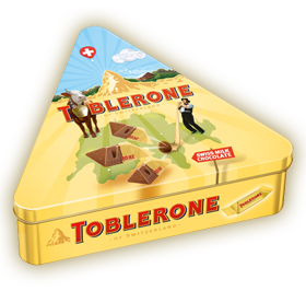 TOBLERONE Metalldose 198g