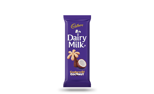 Cadbury Dairy Milk Cashew & Coconut