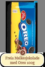 Freia Melkesjokolade med Oreo (100g)