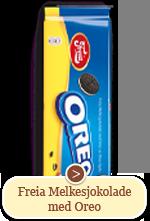 Freia Melkesjokolade med Oreo (190g)