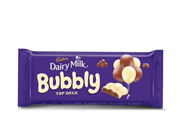 Cadbury Dairy Milk Bubbly Top Deck