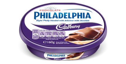 Philadelphia with Cadbury