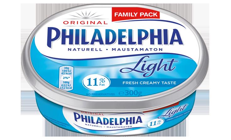 Philadelphia Light Naturell 300g