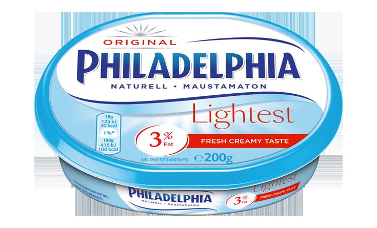 Philadelphia Lightest Naturell 200g