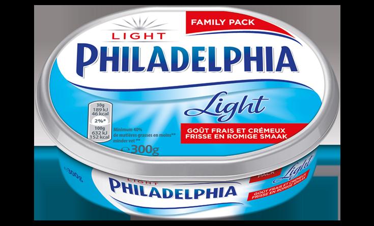 Philadelphia Natuur Light 300g