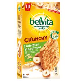 belvita crunchy noisettes