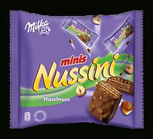 Milka Nussini Minis