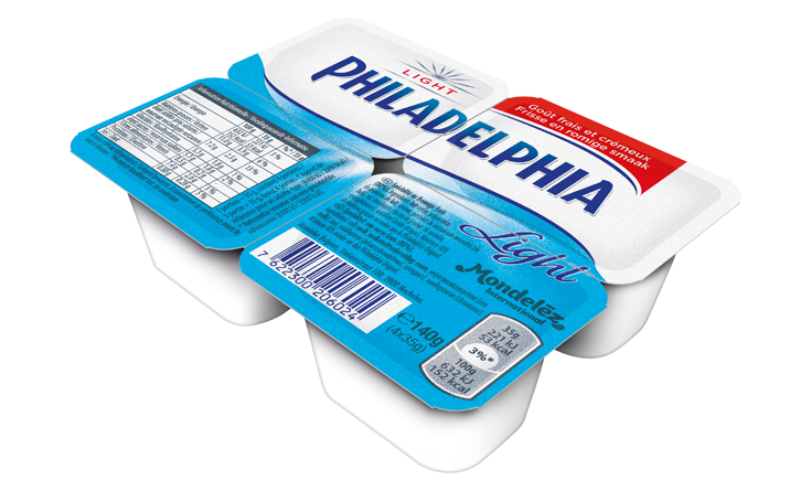 Philadelphia Mini Natuur 4x35g Light