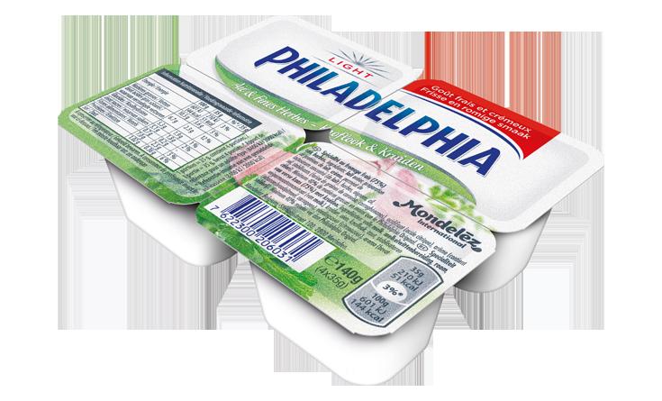 Philadelphia Mini Look & Kruiden 4x35g Light