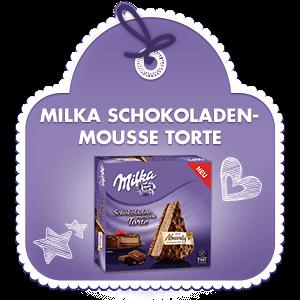 Milka Schokoladenmousse Torte