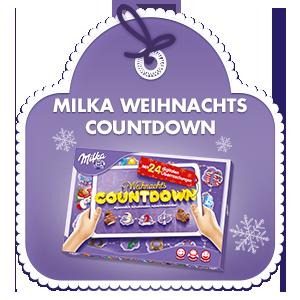 milka adventskalender weihnachts countdown 200g. Black Bedroom Furniture Sets. Home Design Ideas