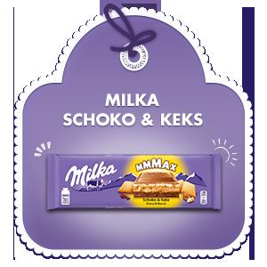 Milka Mmmax Schoko & Keks