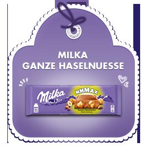 Milka Ganze Haselnüsse