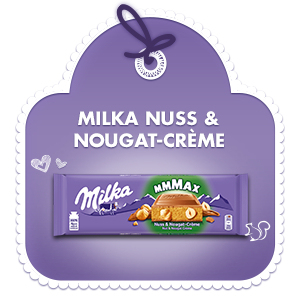 Milka Nuss-Nougat-Crème