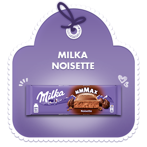 Milka Mmmax Noisette