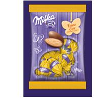 Milka Feine Eier Blätter-Krokant 90g