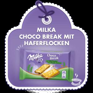 MIlka Choco Break mit Haferflocken 30g