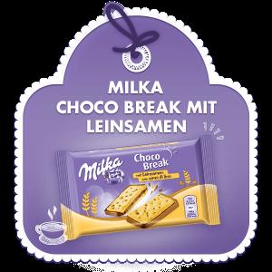Milka Choco Break mit Leinsamen 30g