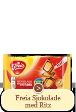 Freia Sjokolade med Ritz