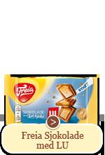 Freia Sjokolade med LU