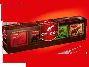 Chocolat Côte d'Or - Mignonnette Variété