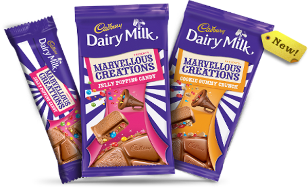 Cadbury Dairy Milk Marvellous Creations