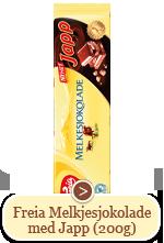 Freia Melkesjokolade med Japp  (200g)