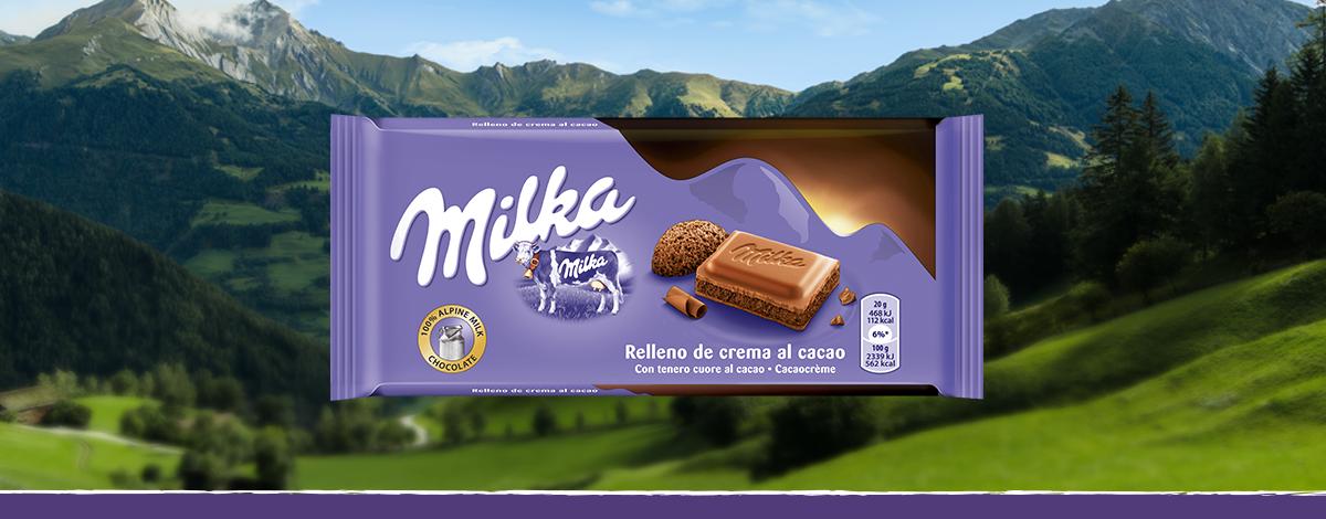 Milka Tenero Cuore al Cacao