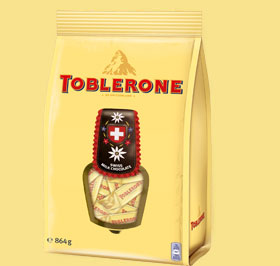 Toblerone Tiny Milk Kuhglocke 864g
