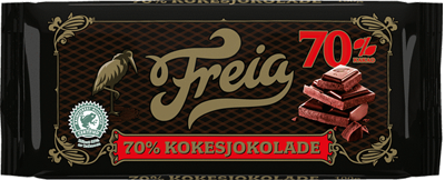 Freia Kokesjokolade 70 %