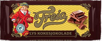 Freia Lys Kokesjokolade