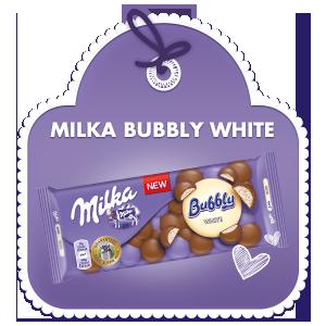 Milka Bubbly White